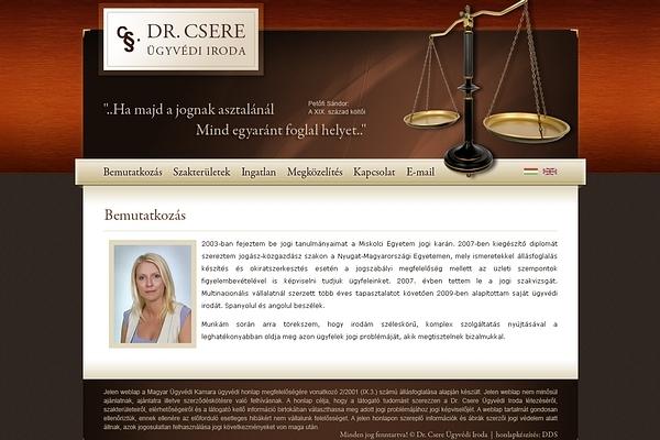 Dr. Csere Ügyvédi iroda