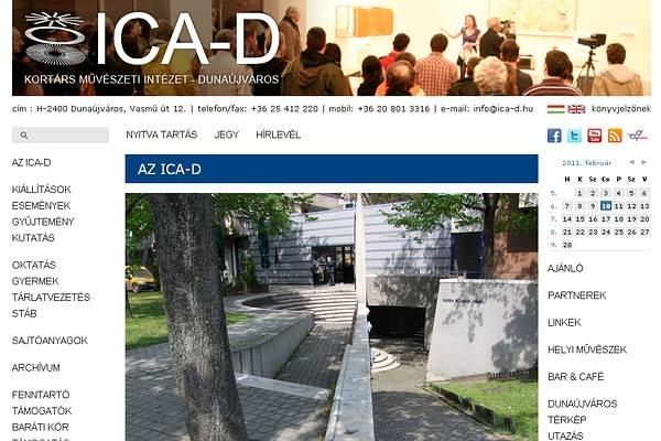 ICA-D Honlap